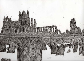 Whitby Abbey, 2007, Kunsttryk