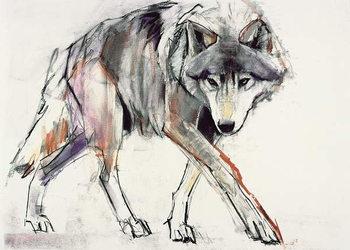 Wolf Kunstdruk