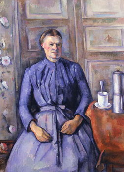 Woman with a Coffee Pot, c.1890-95 Kunstdruck