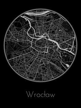 Mapa de Wrocław