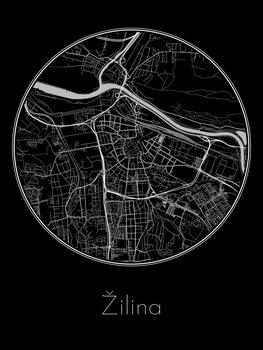 Mapa de Žilina