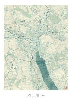 Mapa Zurich