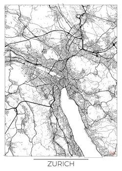Mapa de Zurich