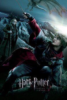Плакат Хари Потър - Огненият бокал - Хари