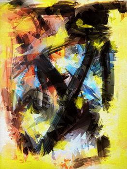 Εκτύπωση έργου τέχνης A little chaos, 2018,