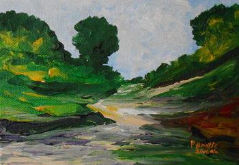 Obrazová reprodukce  A stroll in Ennery, 2016