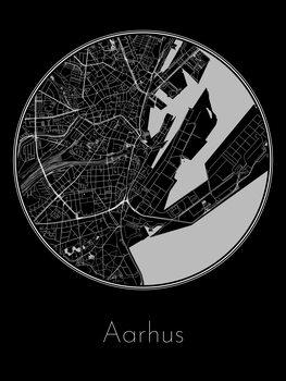Mapa Aarhus