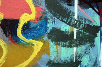Reprodukcja abstract 45