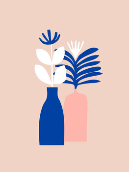 Illustrazione Abstract floral
