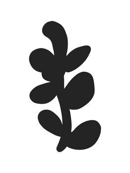Ilustrácia Abstract leaf