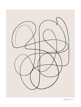 Ilustrácia Abstract scrible