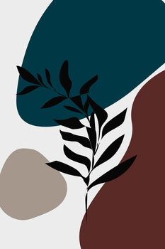 Illustrazione abstractleaf