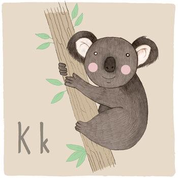 Ilustracja Alphabet - Koala