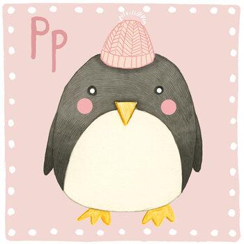 Ilustracja Alphabet - Penguin