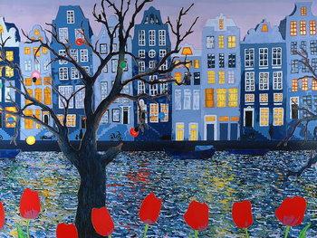 Amsterdam, 2008, Kunstdruk