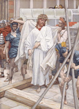 Reproducción de arte  And They Put Him in His Own Raiment, illustration for 'The Life of Christ', c.1886-94