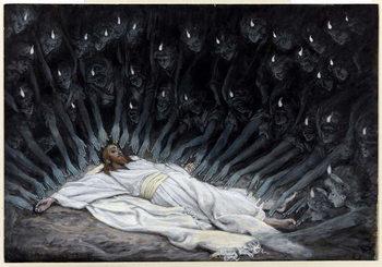 Kunstdruck Angels Came and Ministered unto Him
