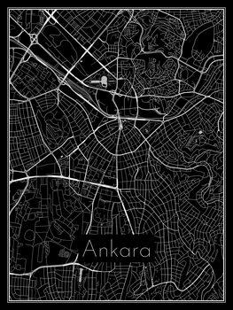 Mapa Ankara