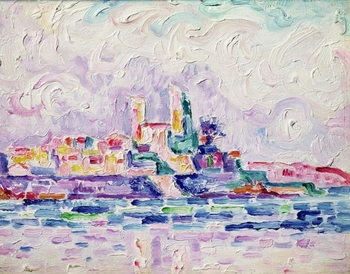 Antibes (study), 1918-19 Reproduction de Tableau