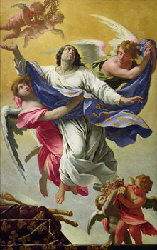 Apotheosis of St. Louis, 1639-42 Reproduction de Tableau