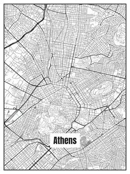 Kaart van Athens