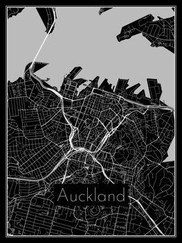 Mapa Auckland
