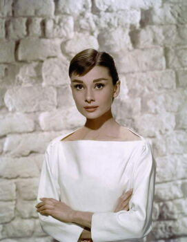 Obrazová reprodukce Audrey Hepburn in 'Funny Face' directed by Stanley Donen, 1957