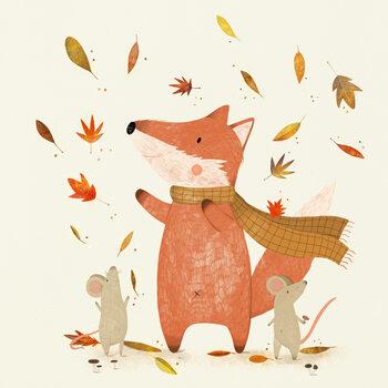 Ilustracja Autumn is coming