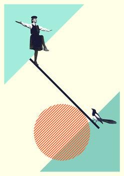 Illustrasjon B is for balance