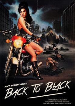 Ilustratie Back to black