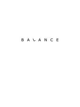 Ilustrace Balance