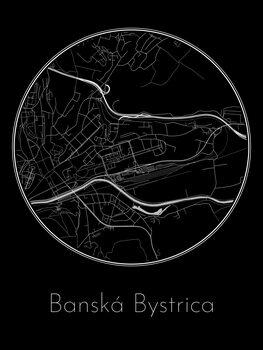 Mapa Banská Bystrica