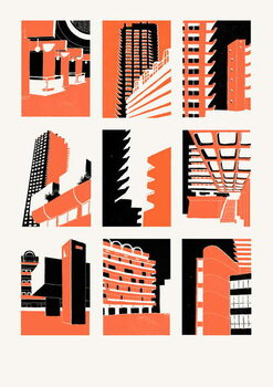 Εκτύπωση έργου τέχνης Barbican