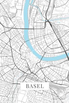 Karta Basel white