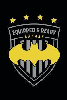Poster de artă Batman - Soccer