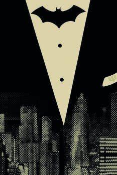 Plakát Batman - Ve městě