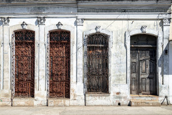 Photographie d'art Beautiful Cuban Facade
