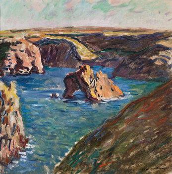 Belle-Ile, 1886 Reproduction de Tableau