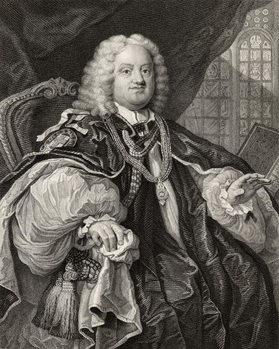 Reprodukcja Benjamin Hoadly, engraved by Benjamin Holl