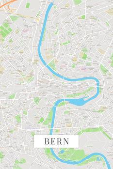 Stadtkarte Bern color
