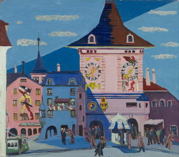 Umelecká tlač Bern with Belltower, 1935