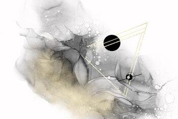 Ilustración Beyond all galaxies no 2 | alcohol ink