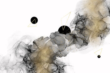 Ilustración Beyond all galaxies no 3 | alcohol ink