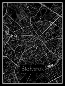 Mapa Białystok