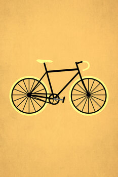 Illustration Bicycle Love