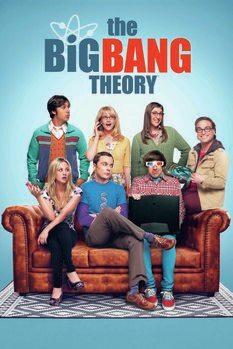 Konsttryck Big Bang Theory - Grupp