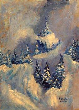 Reproducción de arte  Big Horn Peak, 2009