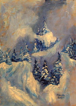 Big Horn Peak, 2009 Kunstdruk