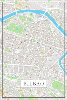 Χάρτης Bilbao color