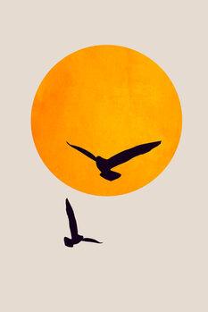Ilustrace Birds In The Sky